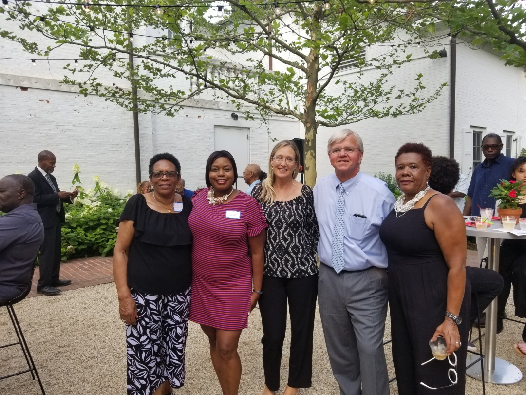 Assemblyman Fred Thiele and Suffolk County Legislator Bridget Fleming joined the Southampton African American Museum, Eastville Historical Society, and the family members of World War II Veterans and