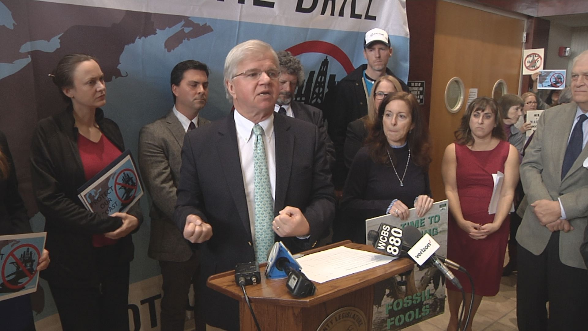 Assemblyman Thiele Speaks on His Opposition to Offshore Drilling