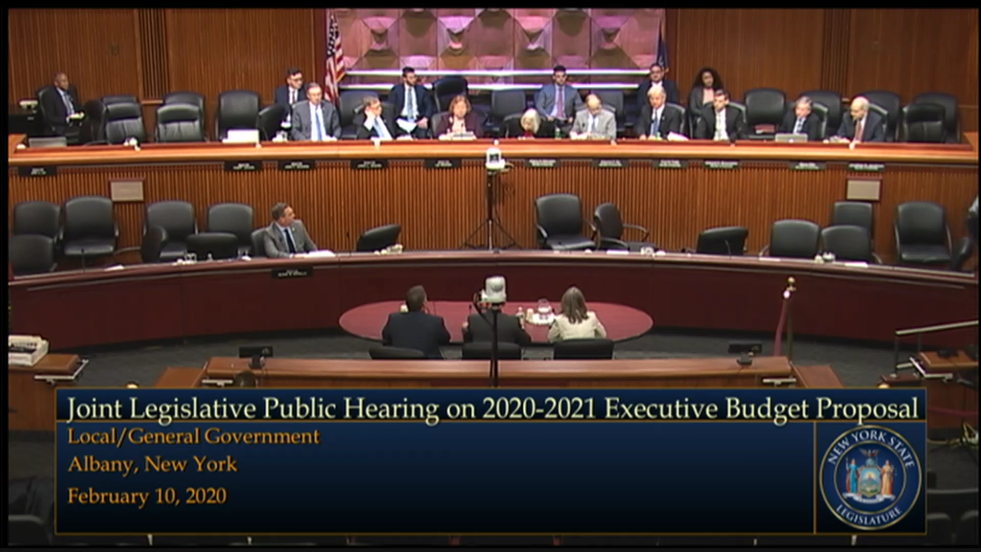2020 Joint Budget Hearing on Local/General Government (2)