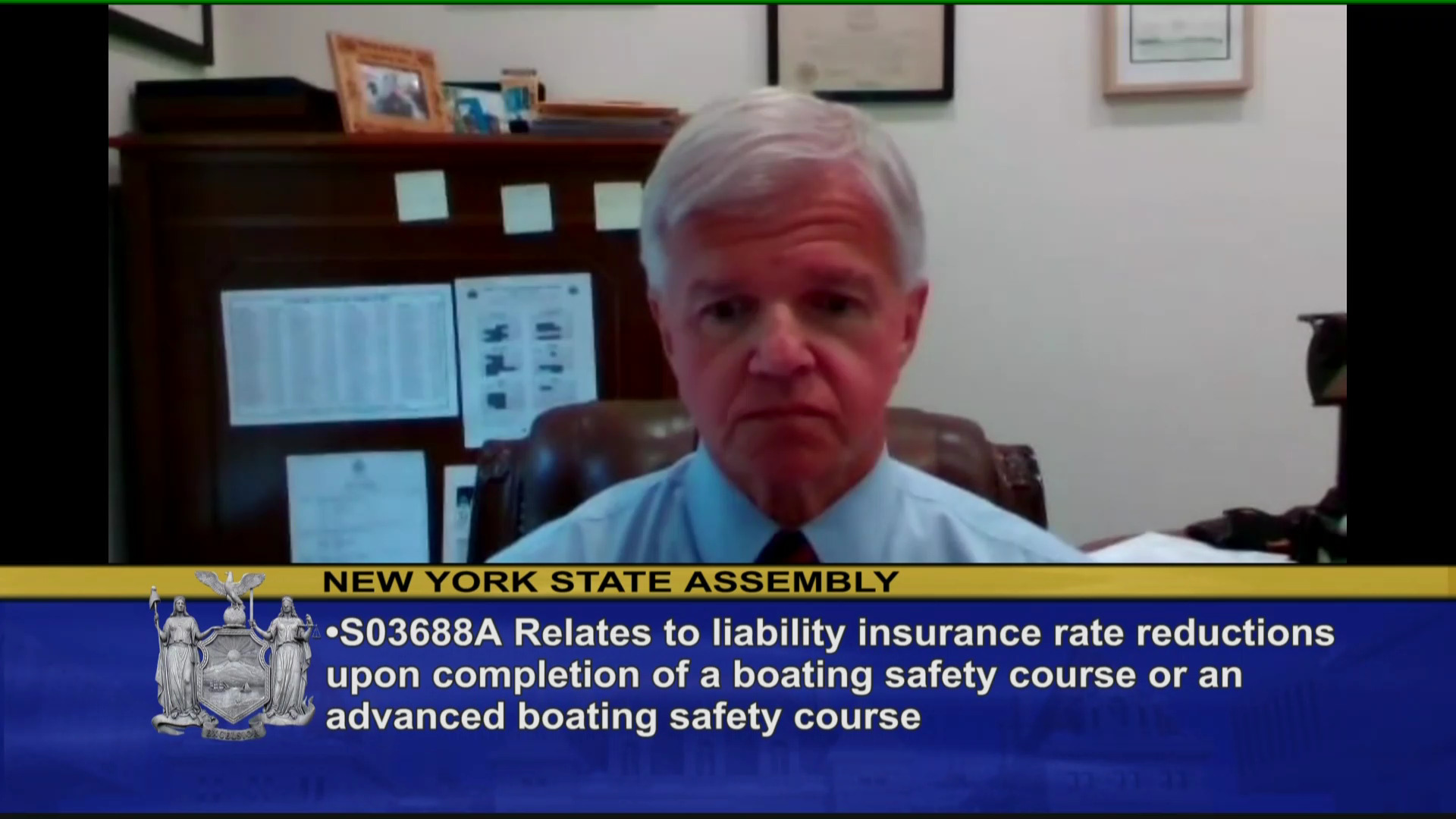 Insurance Reduction for Boating Safety Course
