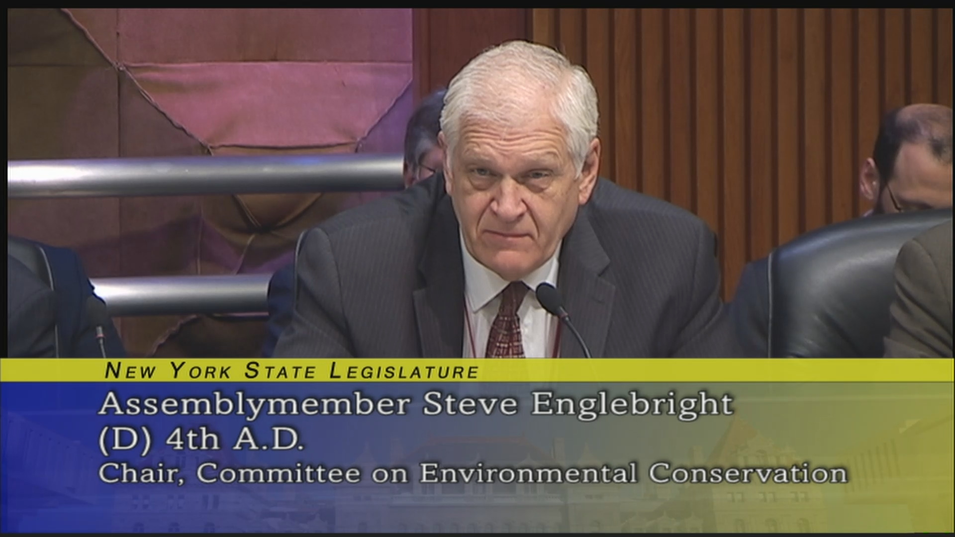 Joint Budget Hearing On Environmental Conservation