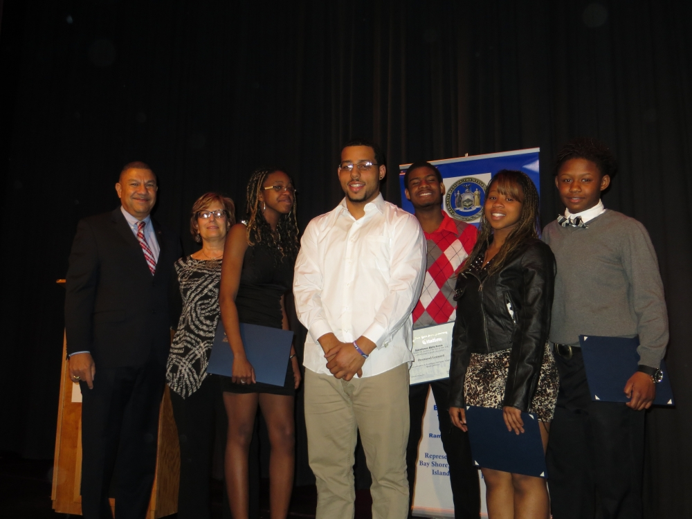Assemblyman Phil Ramos hosted his 3rd annual Celebration of National Women�s History Month. Members of the Bay Shore, Brentwood and Central Islip communities came together at the YMCA Boulton Center to share in the struggles and accomplishments of the women in our lives. Students from the Brentwood, Bay Shore and Central Islip schools performed original poetry/spoken word for the crowd.