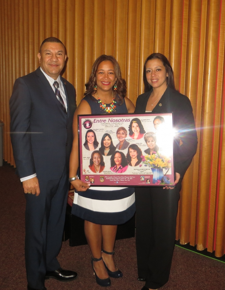 "Deputy Majority Leader Ramos nominates County Legislator Monica Martínez and Deputy Mayor and Village of Freeport Trustee, Carmen Piñeyro for their leadership and political contributions.  The nominees were presented with their awards during the Somos El Futuro ""Entre Nosotras"" luncheon."