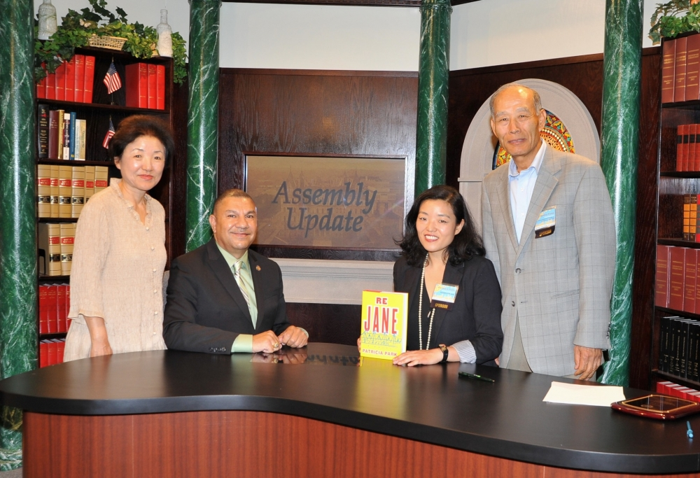 "In honor of Asian Heritage Month, Assemblyman Ramos hosts Patricia Park on his cable television show <em>Assembly Update</em>.  Park is the author of ""Re Jane: A novel"", which discusses the experiences of an Asian American woman and some of the issues she faces in America. Asian Heritage Month celebrates the diversity of Asians in this country.  Park touches on issues of identity and immigration.  To view the interview, go to:  <a href=""https://www.youtube.com/embed/9LrddCCKAVY?autoplay=1"" target=""blank"">https://www.youtube.com/embed/9LrddCCKAVY?autoplay=1</a>."