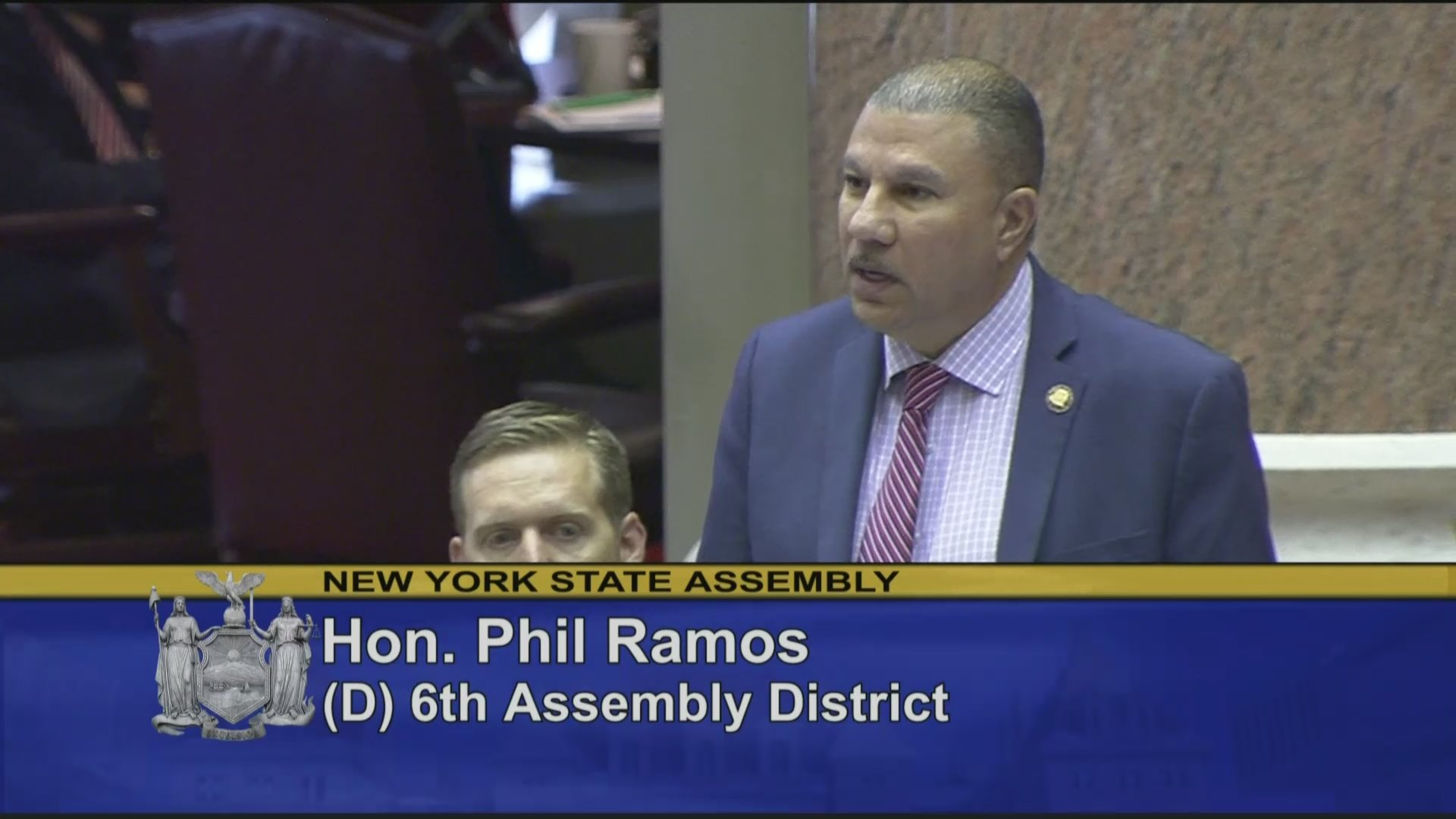 Ramos Speaks On Flag Day Resolution