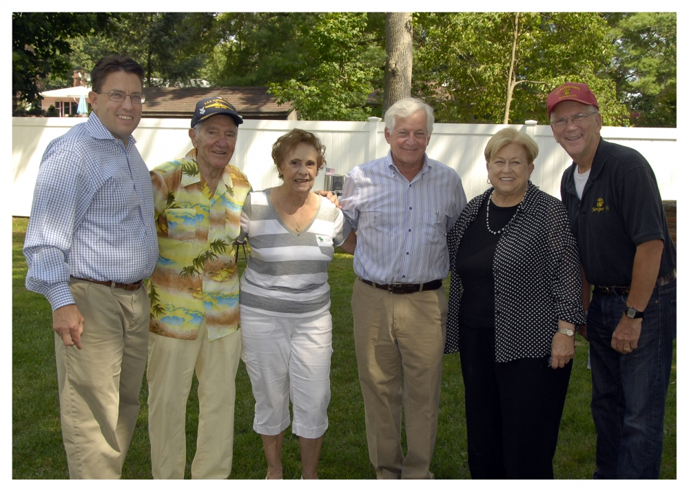 The American Legion hosted a Labor Day Weekend Veterans Picnic at the American Legion Hall on Berry Hill Road in Syosset. Veterans from Syosset, Oyster Bay, Plainview and surrounding areas enjoyed a great day with delicious food and musical entertainment. Joining Assemblyman Charles Lavine and Nassau County Legislator Judy Jacobs were Gus (A.L. Post 175) and Fran Scutari, Legislator Don MacKenzie, and Ed Aulman, A.L. Post 175 in Syosset.