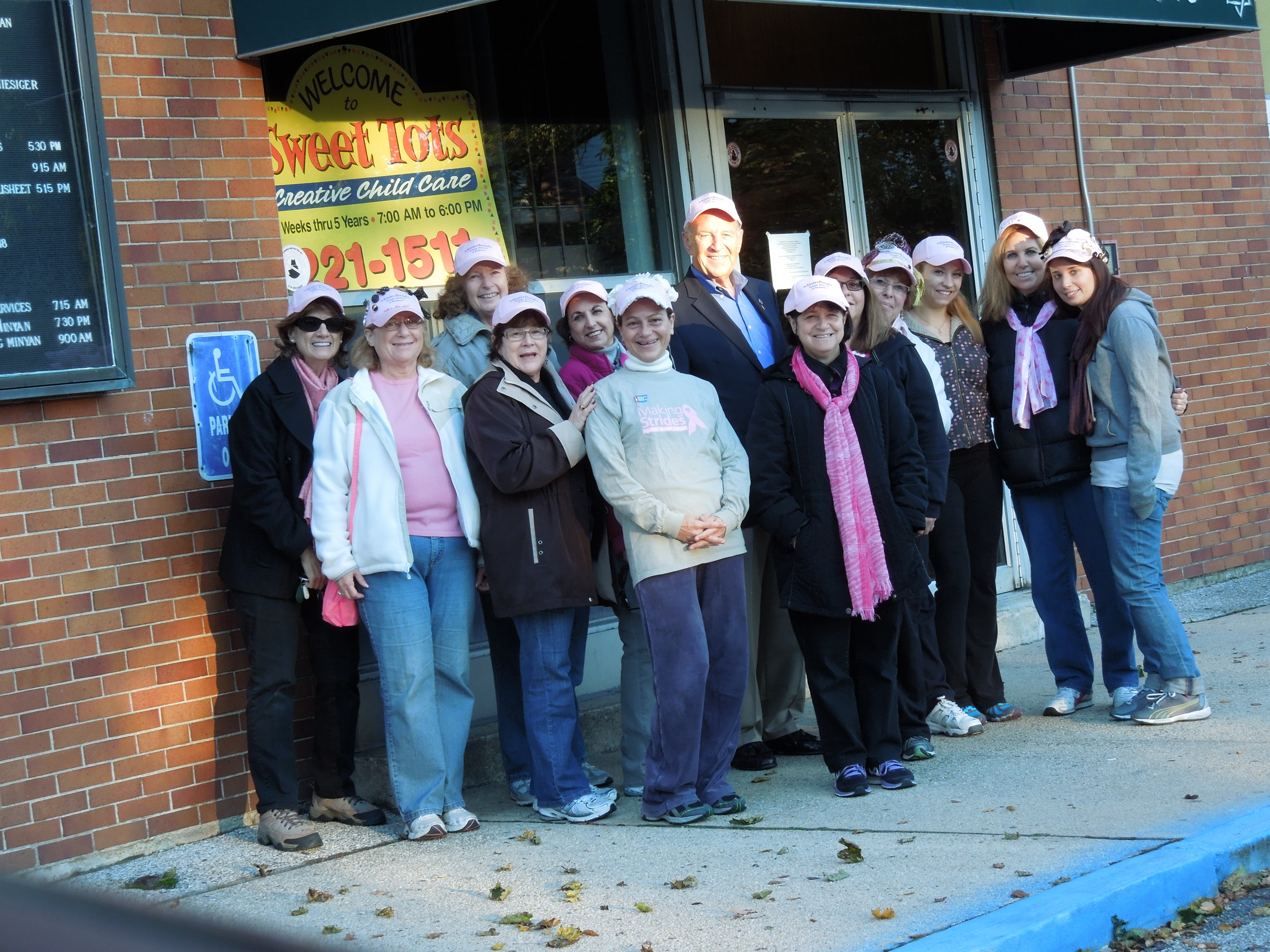 Assemblyman Dave McDonough (R,C,I-Merrick) recently thanked members of the Sisterhood of Temple Beth El of Bellmore for their participation in the American Cancer Society�s Making Strides Against Breast Cancer Walk at Jones Beach to raise awareness and money to help fight breast cancer.