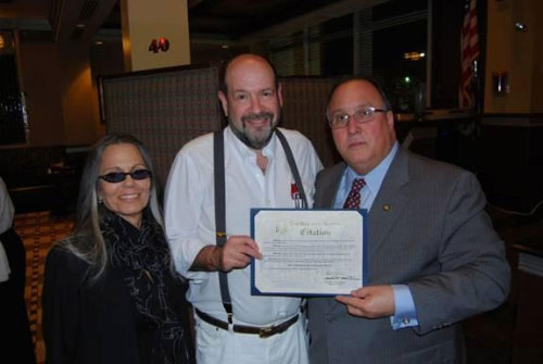 Assemblyman Michael Montesano (R, I, C � Glen Head) joined Ben�s Kosher Delicatessen Restaurant and Caterers owners Ronnie and Cindy Dragoon, along with fellow patrons, at its Greenvale location on February 28. The occasion was a reunion celebration marking the popular deli�s 40th anniversary. Since the original location in Baldwin has since closed, the event took place at the Greenvale venue.