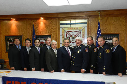 I would like to first thank outgoing Fire Commission Chairman Robert Cribbin for his dedication, and welcome new Commission Chairman Richard Gardner and members of the Nassau County Fire Commission. The members of the commission, many who have served the community as members of departments for decades, are a tremendous asset for Nassau County. I look forward to working with the commission as we continue to strive to make Nassau County as safe place to live.