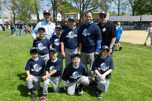 It was my pleasure to join members of the Franklin Square Blue Claws and their fans for their Little League Opening Day Parade and Ceremony.