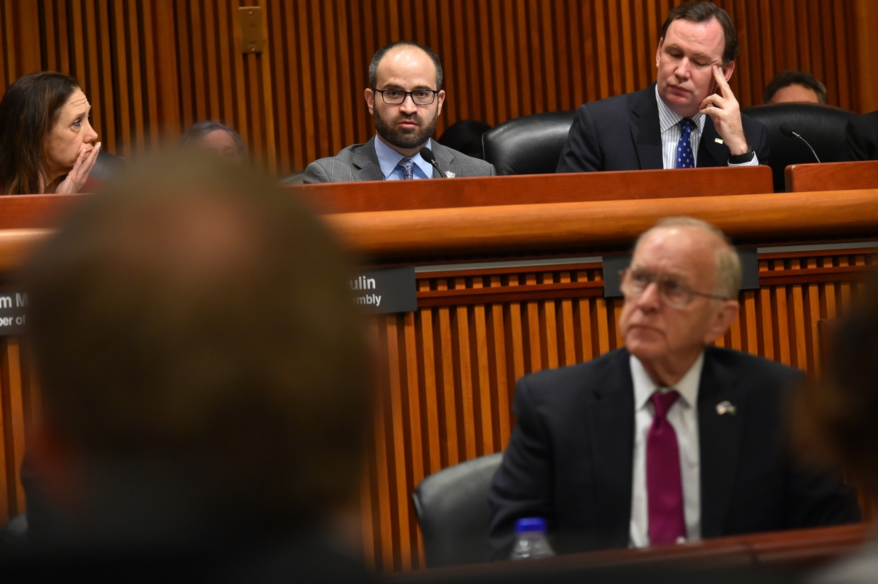 Ra fights for Long Island Transit at joint budget hearing.