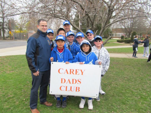 Ed with Carey Dads Club.
