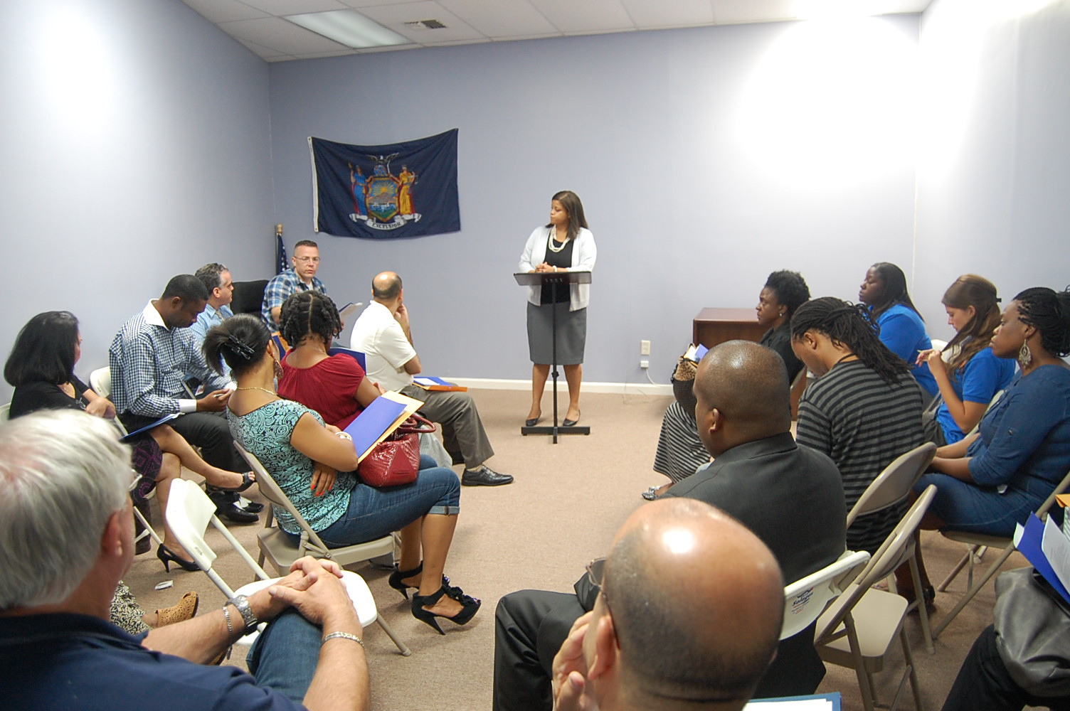 Assemblywoman Solages hosts a Small Business Hurricane Preparedness Workshop
