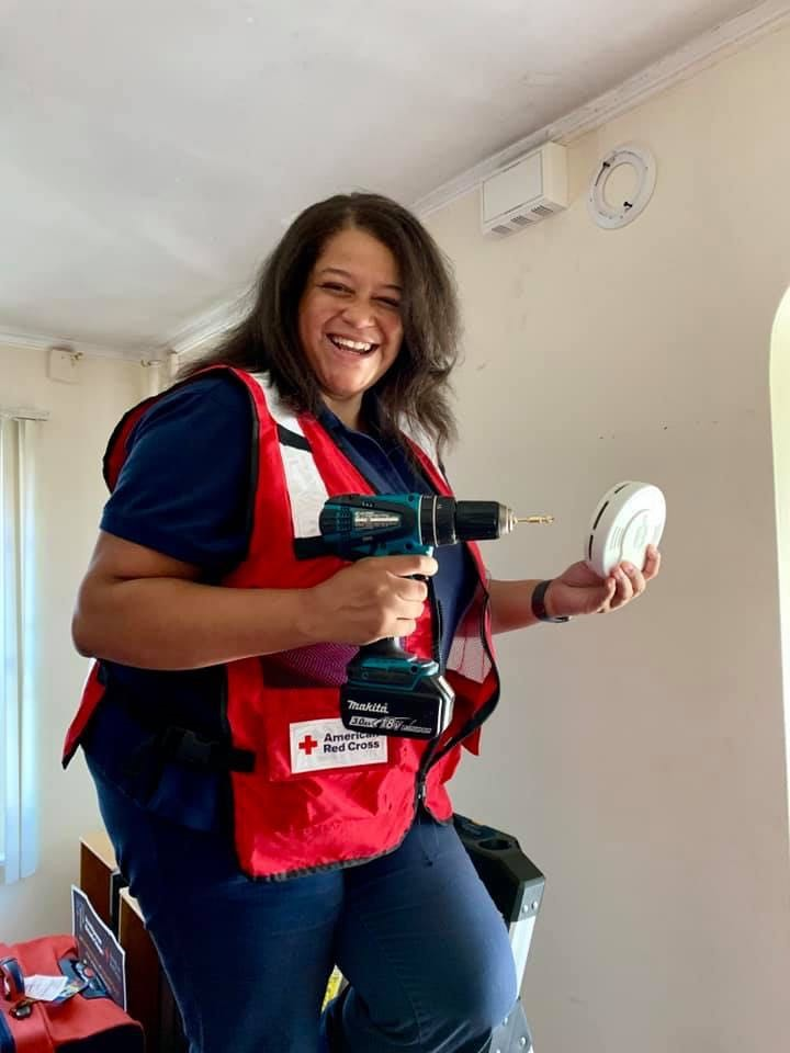 American Red Cross partnered with Assemblywoman Solages to install hundreds of fire alarms in the district as part of the Sound the Alarm campaign to end home fires.