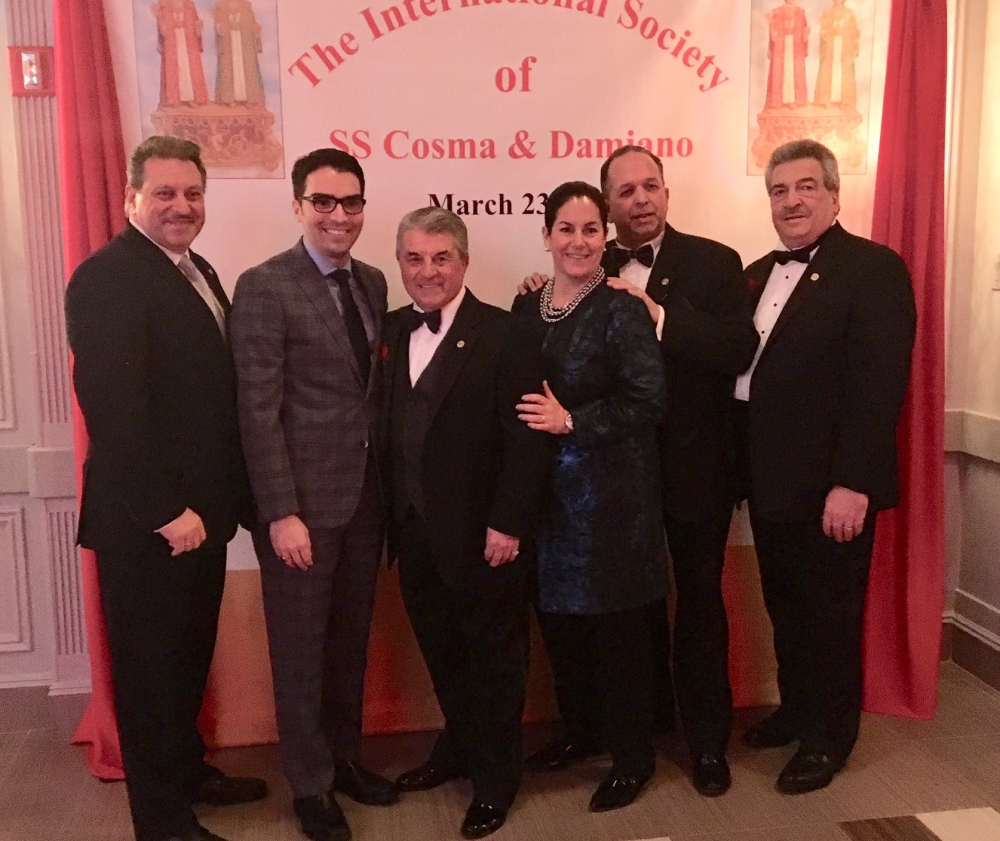 Assemblywoman Stacey Pheffer Amato (D-Howard Beach) attended the annual International Society of SS Cosma & Damiano Dinner.