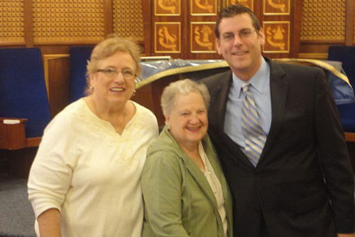 On Monday, September 19, 2011, Assemblyman Braunstein with Iris Kirschner, Program Chairman, and Dennette Friedmen, President, at the Hadassah Whitestone Chapter at Clearview Jewish Center.
