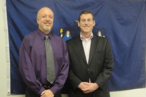 On Friday, March 23, 2012, Assemblyman Braunstein met with Dr. Larry Grubler, Chief Executive Officer of Transitional Services for New York, Inc., and took a tour of the facilities in Queens where the organization assists those with disabilities.