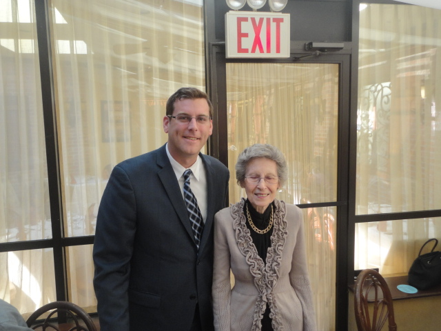 On Monday, October 21, 2013, Assemblyman Braunstein attended the Deepdale CARES Annual Luncheon, hosted by Deepdale CARES NORC-SSP and Samuel Field Y. Assemblyman Braunstein is pictured here with Deepdale CARES member Marie Valvano.