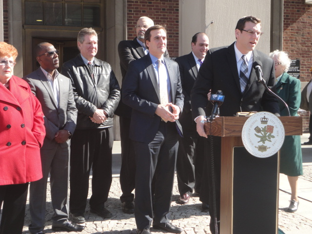 On April 3, 2014, Assemblyman Braunstein attended a press conference at Queens Borough Hall announcing Assemblyman Jeffrion Aubry's and Senator Michael Gianaris' legislation, of which Assemblyman Braunstein is a co-sponsor that makes reforms to the Board of Trustees of the Queens Public Library, allowing for more oversight and governance of the institution.