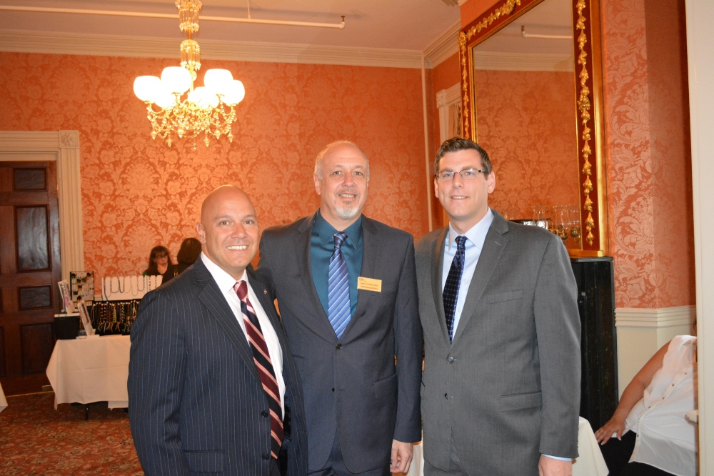 On May 8, 2014, Assemblyman Braunstein attended the Transitional Services for New York Inc.'s Annual Spring Luncheon. Assemblyman Braunstein is pictured with Council Member Paul Vallone and CEO of Transitional Services for New York Dr. Larry Grubler.