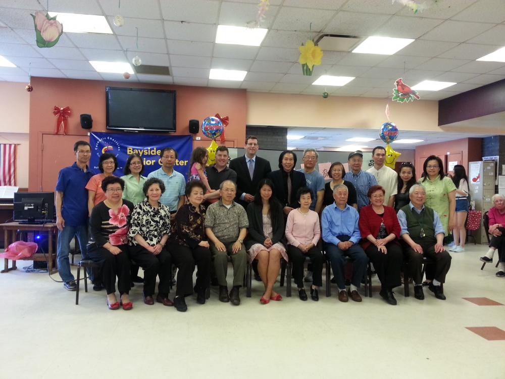 On May 17, 2014, Assemblyman Braunstein attended the Key Luck Club's 3rd Annual Chinese American Heritage Celebration, where he honored members for their lifetime achievements and contributions to the community. Assemblyman Braunstein is pictured with Council Member Mark Weprin, Key Luck Club President Irene Cheung, and the Key Luck Club honorees.