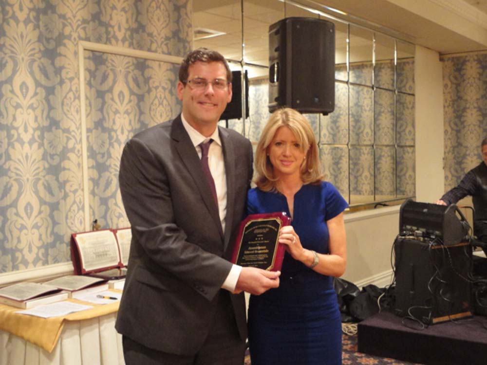 On June 27, 2014, Assemblyman Braunstein was honored by Services Now for Adult Persons, Inc. (SNAP) with the Board of Directors' Award at their 34th Anniversary Celebration. Assemblyman Braunstein is pictured with SNAP board member and former Assemblywoman Ann-Margaret Carrozza.
