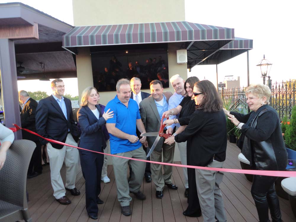 On October 7, 2015, Assemblyman Braunstein attended the ribbon-cutting for the new rooftop at Bourbon Street Queens. Assemblyman Braunstein is pictured with Queens Borough President Melinda Katz; Victoria Schneps, CEO/Publisher of Schneps Communications; Tom Grech, Executive Director of the Queens Chamber of Commerce; John Ryan and Mark Boccia, owners of Bourbon Street; and Peter Seagrave, Lara Fois, and Ellen LaPerna, managers of Bourbon Street.
