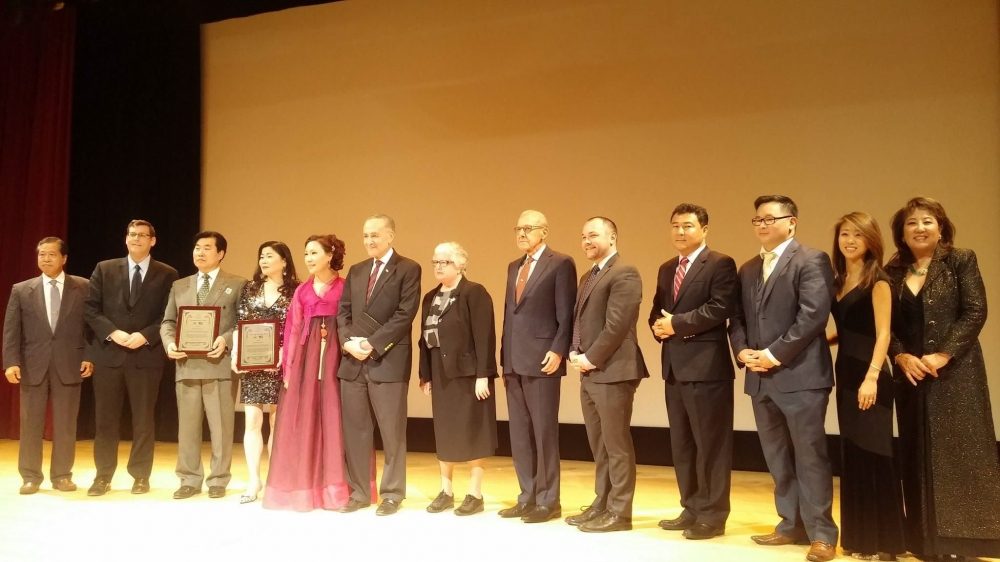 On January 9, 2016, Assemblyman Braunstein attended the Korean American Association of Greater New York's 56th Annual Korean-American Day Celebration.