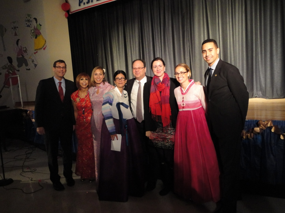 On February 3, 2016, Assemblyman Braunstein attended PS 203: The Oakland Gardens School Lunar New Year celebration.