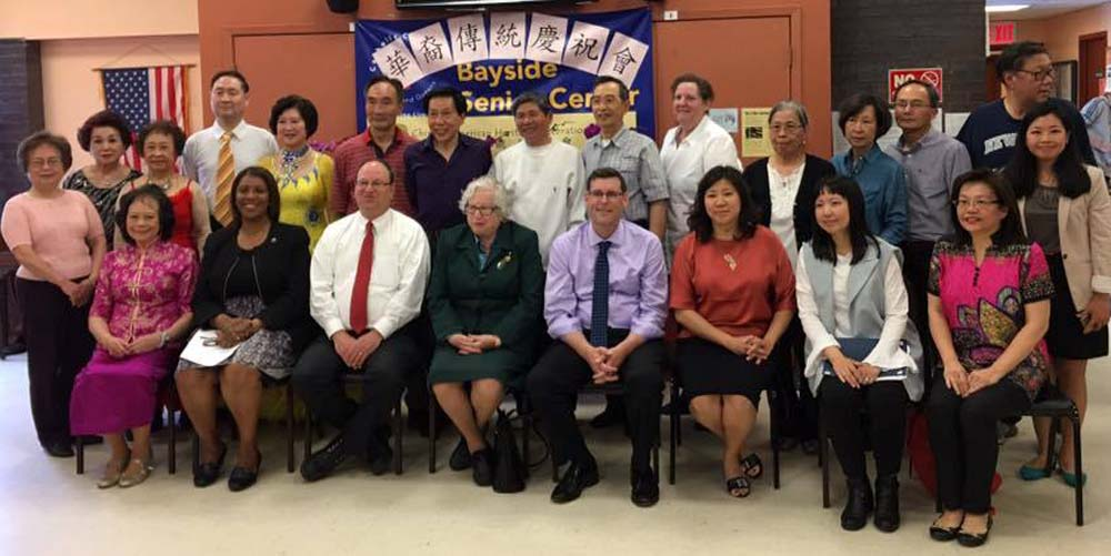 On May 14, 2016, Assemblyman Braunstein attended the Key Luck Club's 5th Annual Chinese American Heritage Celebration at Bayside Senior Center.