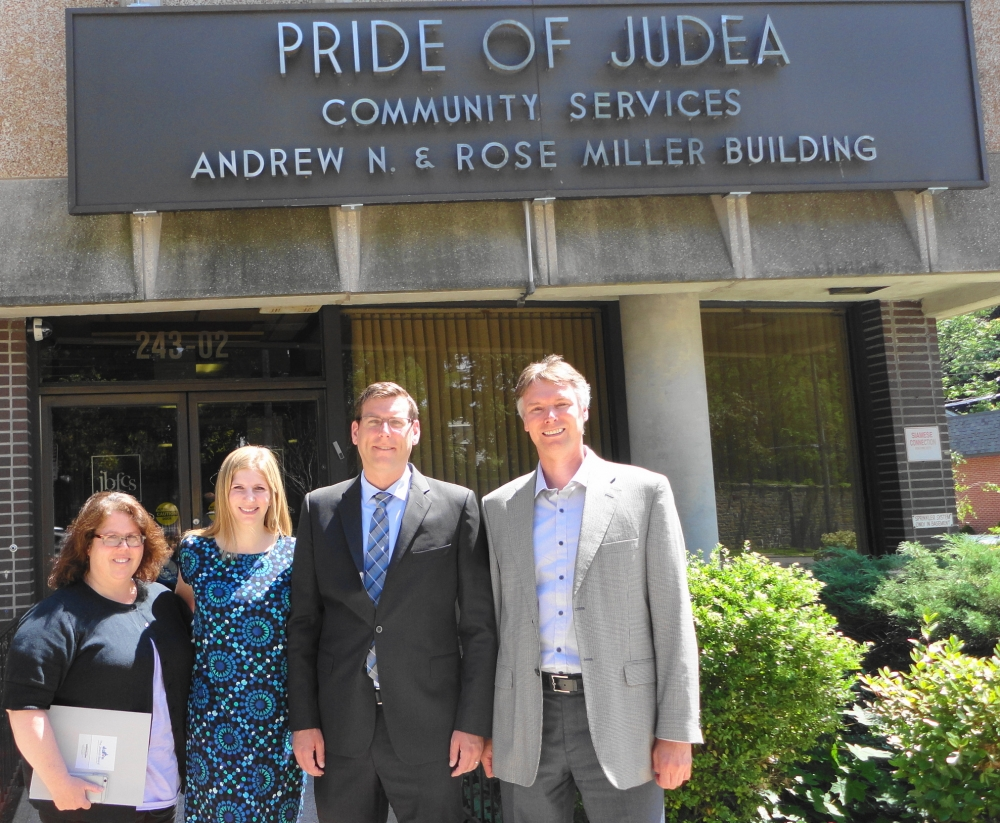 On July 11, 2016, Assemblyman Braunstein visited Pride of Judea Community Services in Douglaston.<br />