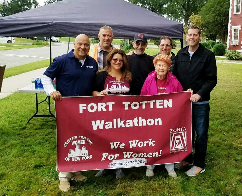 On September 24, 2016, Assemblyman Braunstein joined Council Member Paul A. Vallone at the Center for the Women of New York's 8th Annual 3K Walkathon fundraiser at Fort Totten.<br />