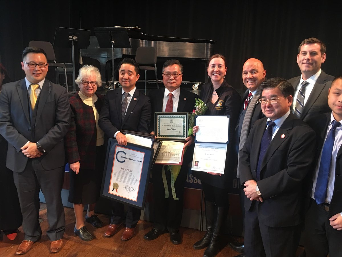 On January 6, 2017, Assemblyman Braunstein attended the Installation Ceremony of Thomas Soohyun Kim, the newly elected President of the Korean American Association of Queens.<br />