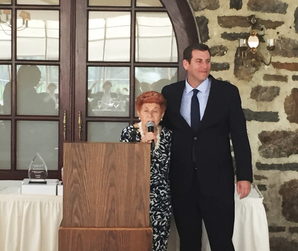 On April 29, 2017, Assemblyman Braunstein attended the Center for the Women of New York's 30th Anniversary Annual Luncheon.