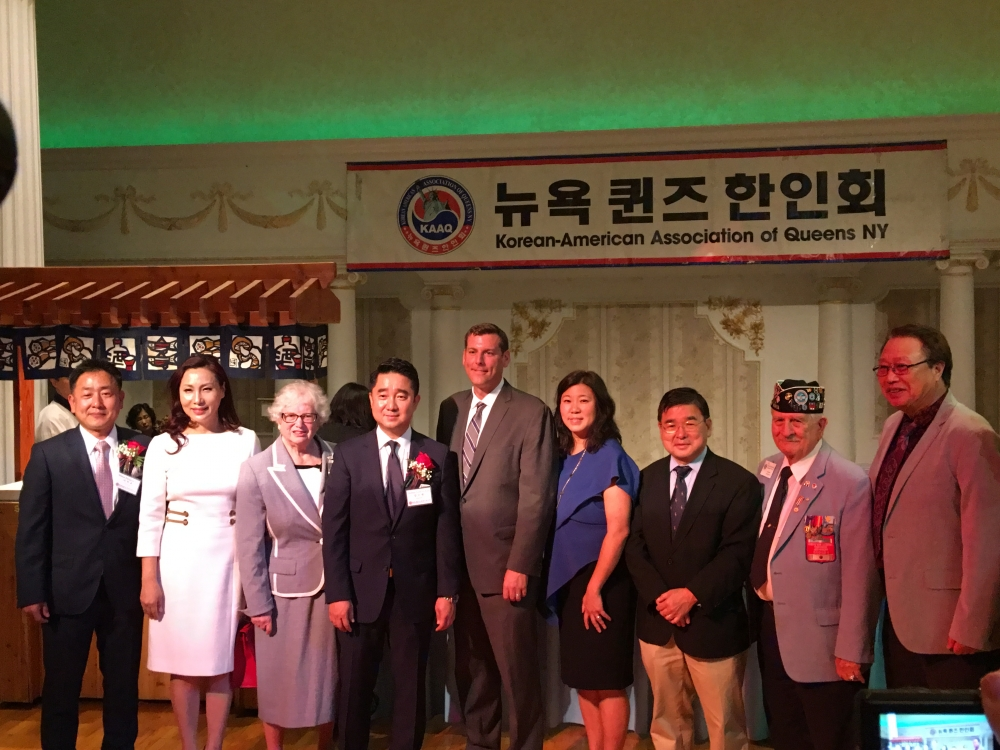 On September 14, 2017, Assemblyman Braunstein attended the Korean American Association of Queens NY's 37th Annual Benefit Gala.<br />