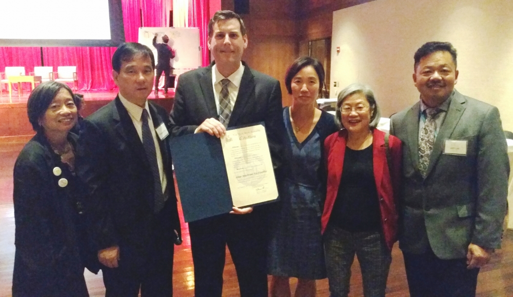 On October 25, 2017, Assemblyman Braunstein joined Asian Americans for Equality (AAFE) at its 10th Annual Asian American Community Development Conference.