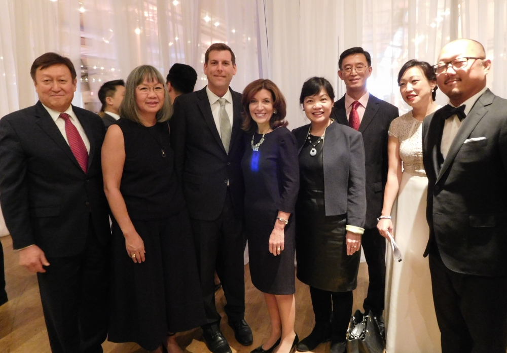 On November 17, 2017, Assemblyman Braunstein attended the Korean Community Services of Metropolitan New York, Inc. 44th Anniversary Gala with Keynote Speaker Lieutenant Governor Kathy Hochul.