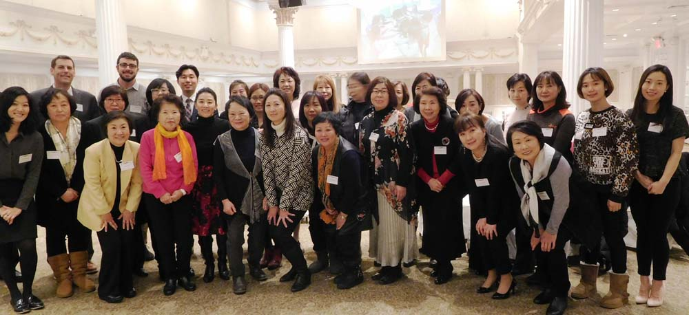 On December 13, 2017, Assemblyman Braunstein attended the Korean American Family Service Center's Annual Volunteer Appreciation Party.