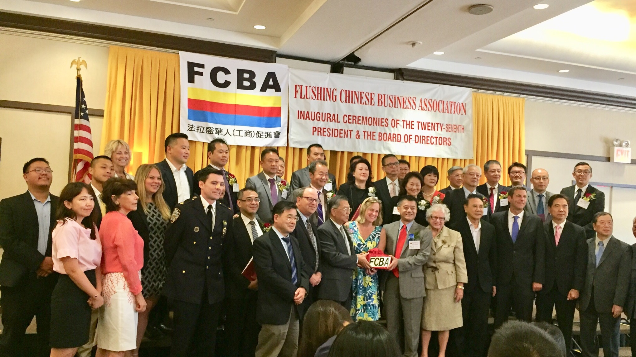 On August 24, 2018, Assemblyman Braunstein attended the Flushing Chinese Business Association's Inauguration of its 27th President.