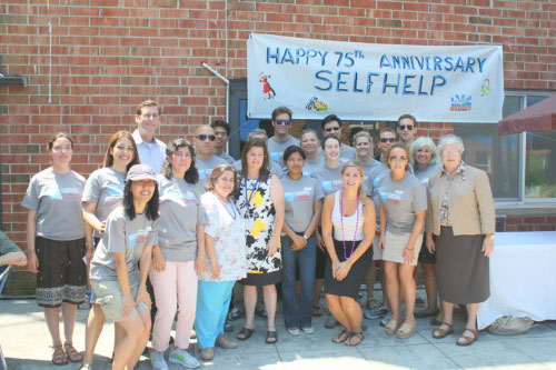 On Tuesday, July 19, 2011, Assemblyman Braunstein joined the members of Selfhelp Clearview Senior Center in Bay Terrace and Director Erin Brennan for a 75th Anniversary Summer BBQ Bash with Senator Toby Ann Stavisky and Goldman Sachs Community volunteers.