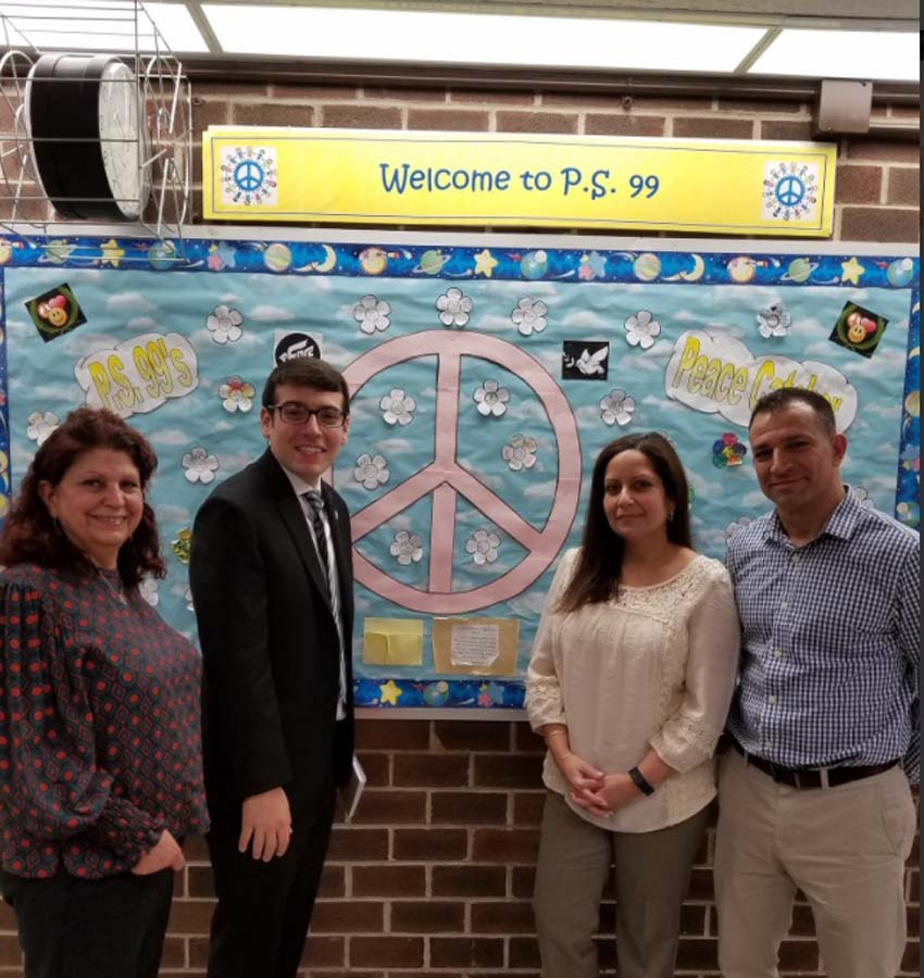 <strong>School Visit: P.S. 99Q: </strong>Assemblymember Rosenthal visited P.S. 99 to discuss the excellent community and educational programming offered to children and families in Kew Gardens.<br /><br />