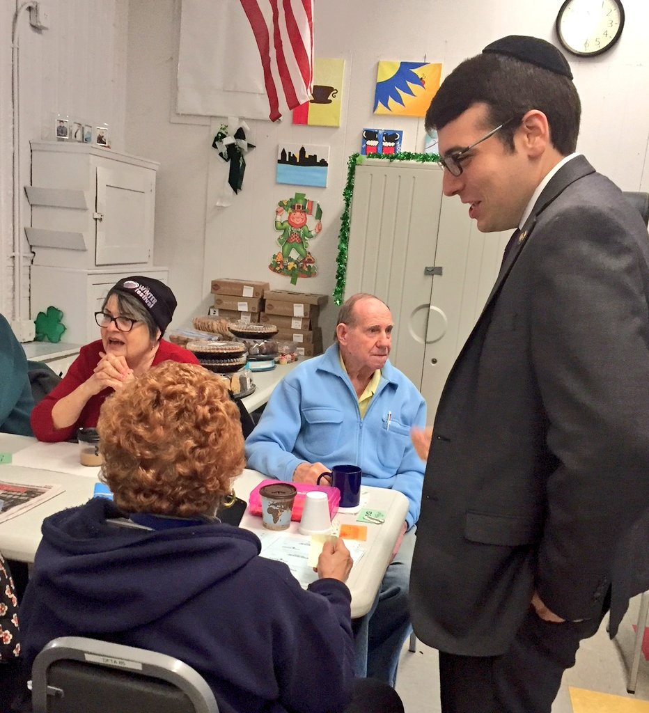 Assemblymember Rosenthal visits HANAC Senior Center in College Point during his Mobile Office hours. The office was able to help dozens of seniors apply for exemptions, file applications and address q