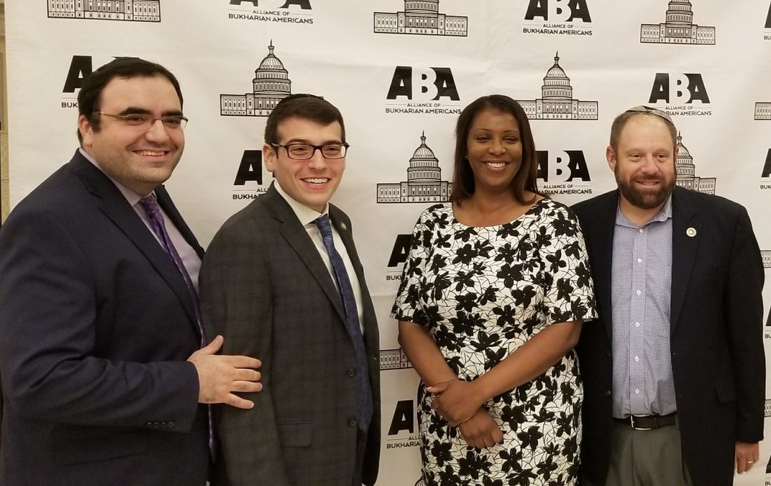 Assemblymember Daniel Rosenthal joined Public Advocate Letitia James and Councilmembers Rory Lancman and Barry Grodenchik at the Alliance of Bukharian Americans event.