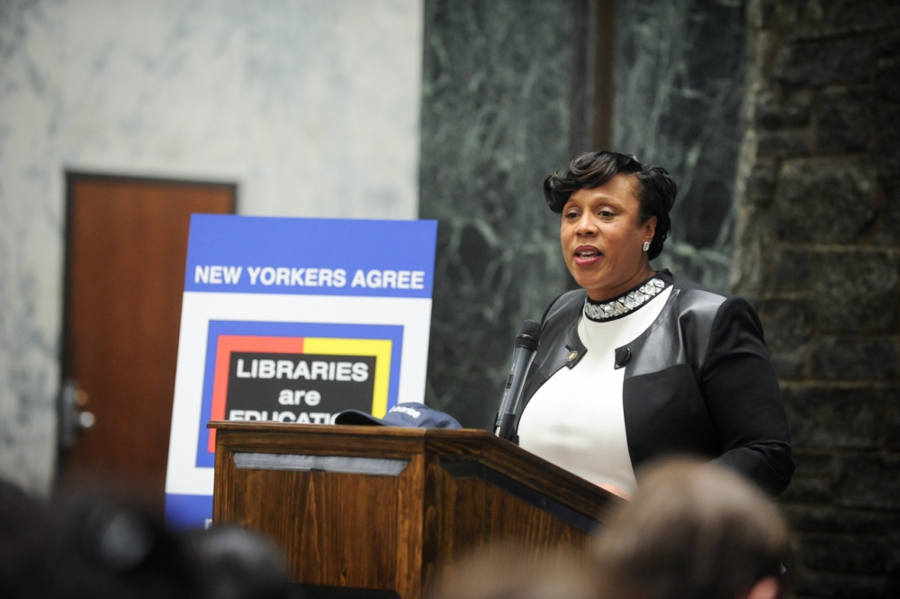 Assemblywoman Hyndman advocating for local libraries<br />
