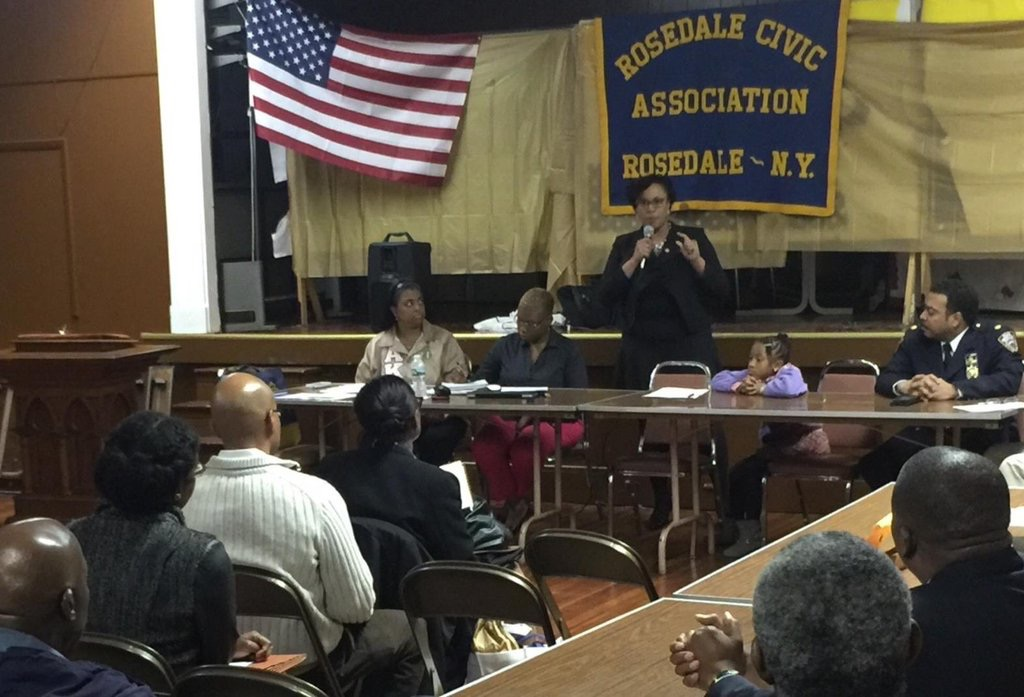 Assemblywoman Hyndman updating Rosedale Civic on the Budget<br /> <br />