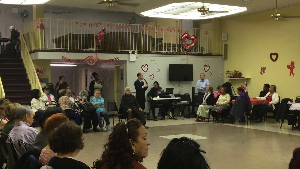 On February 27, 2016, Assemblyman Barnwell visited the Dellamonica Steinway Senior Center to discuss legislation he's introduced on behalf of our seniors.<br /> <br />