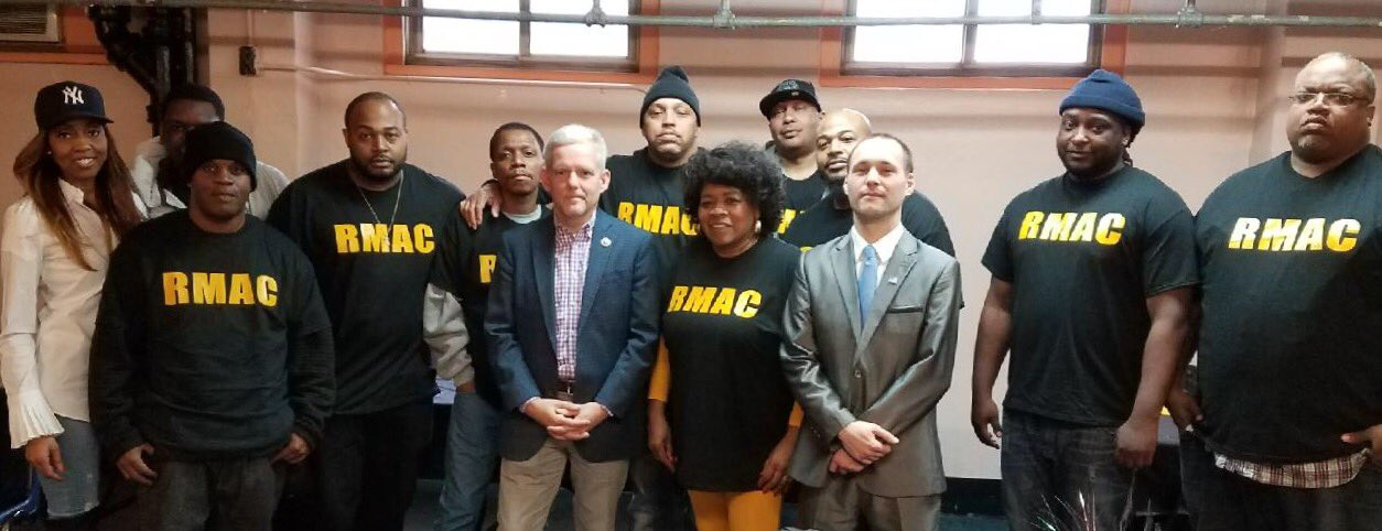 On March 25, 2017, Assemblyman Barnwell and Councilman Van Bramer joined Woodside Houses TA President Annie Cotton-Morris, and community leaders for a civic engagement conference.<br /><br />