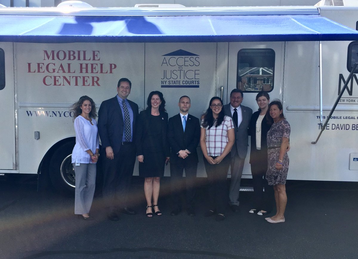 August 30th, Assemblyman Barnwell, continued his partnership with NYLAG, bringing free legal services to the community. Barnwell joined with Maspeth Federal Savings Bank, and colleagues in government.<br />