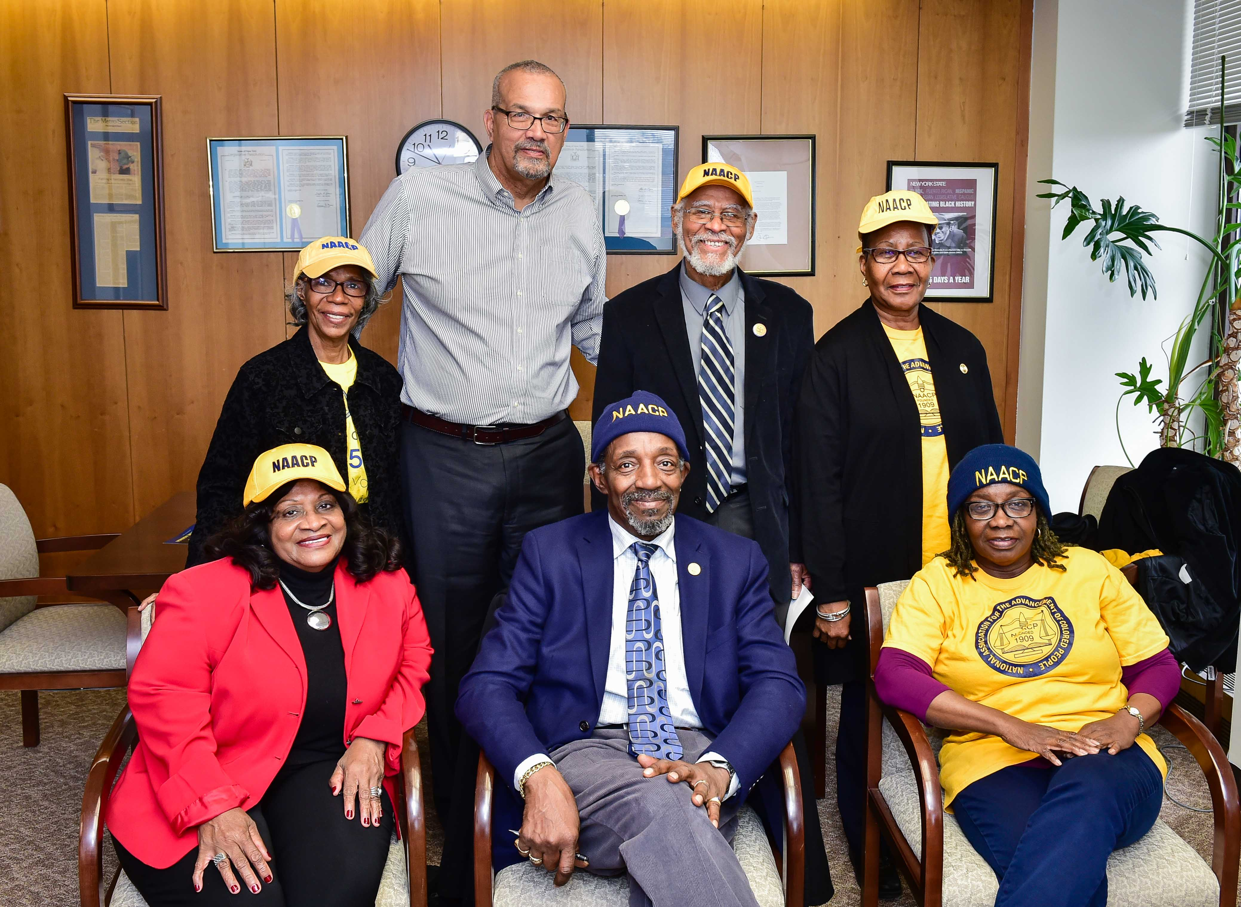 Meeting with the Corona East Elmhurst NAACP