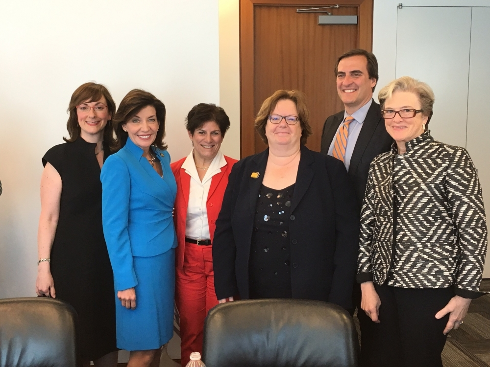 Assemblywoman Catherine Nolan recently joined a roundtable put together by the Long Island City Partnership which featured Lieutenant Governor Kathy Hochul and Regional Economic Development Council fo